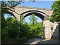 NT2473 : Dean Bridge and 3 Miller Row by Alan Murray-Rust