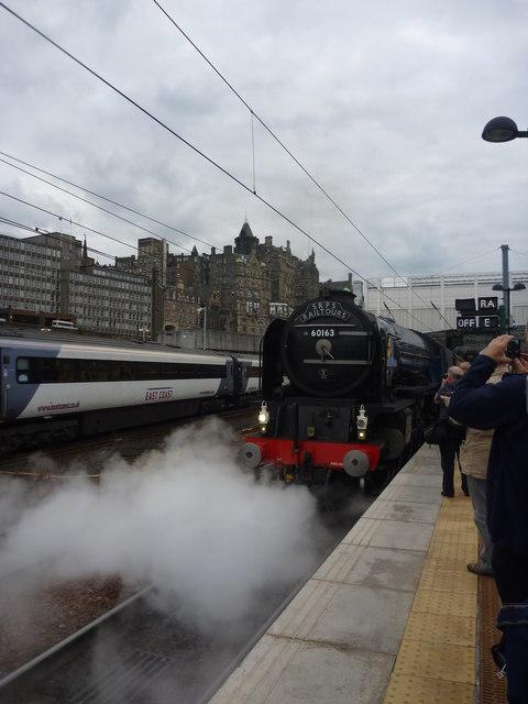 Edinburgh Townscape : Steam For An Imaginary Western