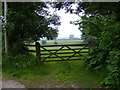TM4580 : Field entrance by Adrian Cable