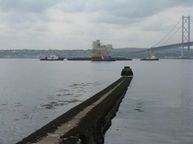 The Town Pier at North Queensferry