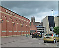 SK3536 : Tennant Street: Market Hall, Assembly Rooms, Quad and Cathedral by John Sutton