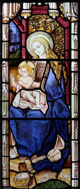 St Andrew, Good Easter - Stained glass window