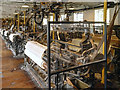 SJ8383 : Quarry Bank Mill Weaving Shed by David Dixon