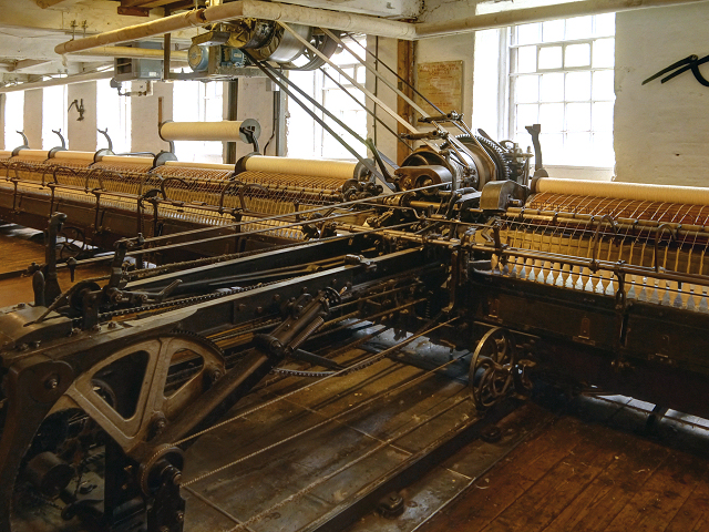 Spinning Mule, Quarry Bank Mill © David Dixon :: Geograph ...