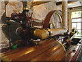 SJ8382 : Horizontal Steam Engine, Quarry Bank Mill by David Dixon