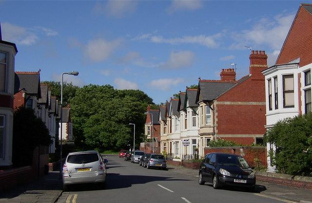 Grenville Road in Pen y Lan