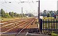 NY3564 : Site of Floriston station, 1991 by Ben Brooksbank