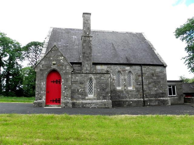 Aghyaran Methodist Church (side view)