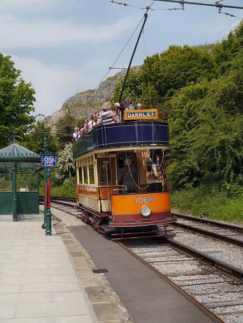 Victoria Park Halt, Crich Tramway Village