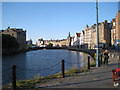 NT2676 : Inner basin, Water of Leith by Leith Shore  by Robin Stott