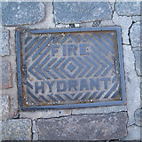 NT2676 : Fire hydrant cover, Leith Shore by Robin Stott