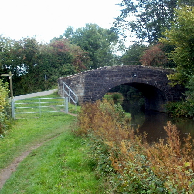 Canal bridge 74, Goytre