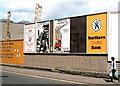 D1003 : Advertising posters, Ballymena (1982) by Albert Bridge