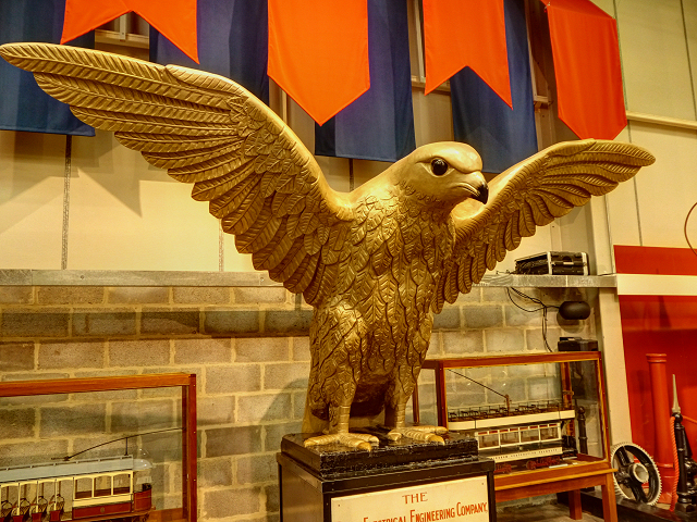 The Brush Falcon, National Tramway Museum