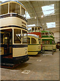 SK3454 : The National Tramway Museum at Crich by David Dixon