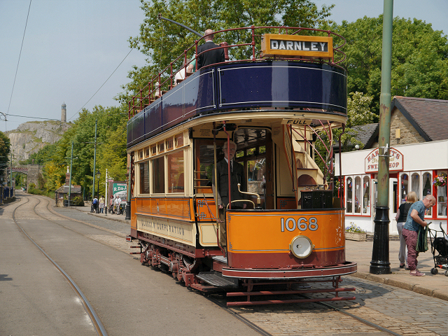 Glasgow Tram at Stephenson Place
