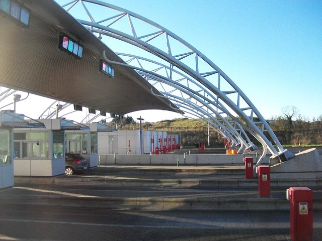 The M1 Toll Plaza at Balgeen