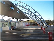 O1069 : The M1 Toll Plaza at Balgeen by Eric Jones