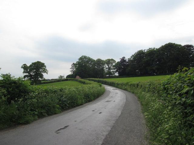 Lane south of High Biggins