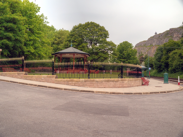 Crich Tramway Village, Victoria Park and Bandstand