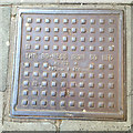 NT2673 : Cast-iron inspection cover, Bo-Ness Iron Co Ltd, Nicolson Street by Robin Stott