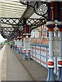 NZ4920 : Colonnade on Middlesbrough Station by Oliver Dixon