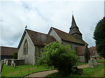 SU5355 : All Saints, Hannington: June 2013 by Basher Eyre
