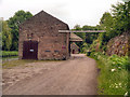 SK3155 : Wharf Shed, High Peak Junction by David Dixon