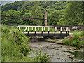 SK3155 : Cromford Canal, Swingbridge (#2) at High Peak Junction by David Dixon