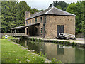SK2957 : Canal Warehouse, Cromford by David Dixon
