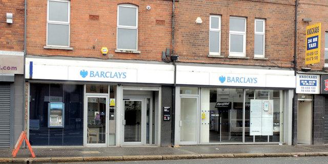 Barclays Bank, Ballyhackamore, Belfast