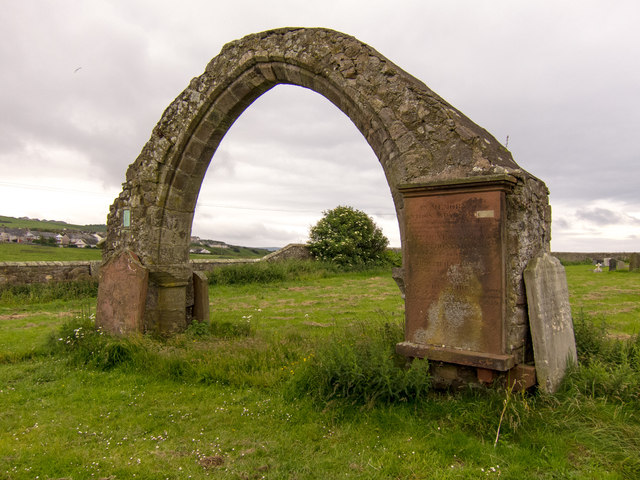 Chancel Arch of Old Moreby Church