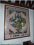 SU5355 : All Saints, Hannington: Millennium Commemoration  by Basher Eyre