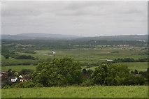 TQ0314 : Arun plain and Amberley Wild Brooks by Chris