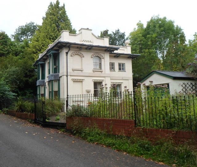 Grade II listed former Broomy Hill Waterworks Lodge, Hereford
