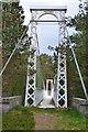 NO1990 : Suspension footbridge near Garbh Allt Shiel by Jim Barton