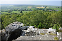 SE2065 : View north from Brimham Rocks by Philip Halling