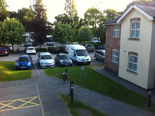 Grounds and car park of Premier Inn, Gresford