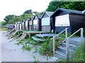 SZ0383 : Beach Huts, Studland by Nigel Mykura