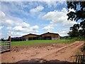 SJ4654 : Barn near Clutton by Jeff Buck