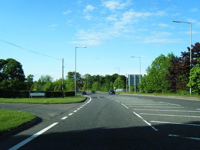 B766 Carmunnock by-pass