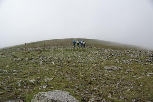 The summit ridge of Harter Fell