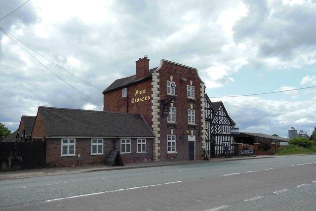 The Four Crosses Public House, Hatherton