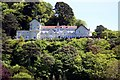 SS7249 : The Tors Hotel in Lynmouth by Steve Daniels