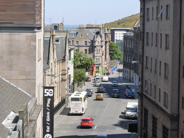 Cowgate from South Bridge