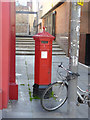 NT2673 : Festival Theatre / 13 - 29 Nicolson Street postbox ref EH8 136 by Alan Murray-Rust