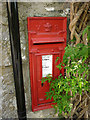 SD5495 : Victorian postbox, Meal Bank by Karl and Ali