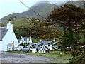 NG8409 : Corran, a view from the car park at the end of the public road by Andrew Hill
