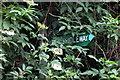 SP9644 : Path signpost by Philip Jeffrey
