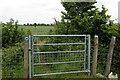 SP9743 : Gate on the John Bunyan Trail by Philip Jeffrey